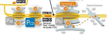 terminal 2 Roissy CDG